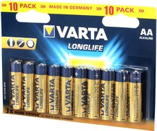 Батарейка Varta Long Life (AA, 10 шт)