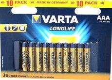 Батарейка Varta Long Life (AAA, 10 шт)