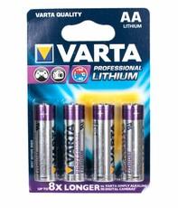 Батарейка Varta Ultra Lithium (AA, 4 шт)