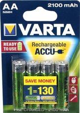 Аккумулятор Varta (AA, 2100mAh, 4 шт)