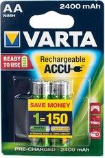 Аккумулятор Varta (AA, 2400mAh, 2 шт)