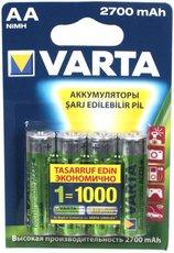 Аккумулятор Varta (AA, 2700mAh, 4 шт)