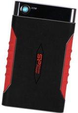 Внешний жесткий диск 1Tb Silicon Power Armor A15 Black/Red (SP010TBPHDA15S3L)