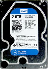 Жесткий диск 2Tb SATA-III Western Digital Blue (WD20EZRZ)