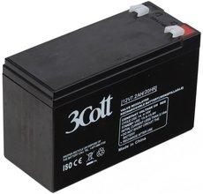 Аккумуляторная батарея 3Cott 12V7.2Ah