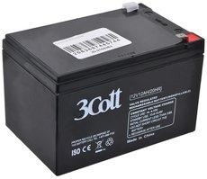 Аккумуляторная батарея 3Cott 12V12Ah