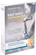 ESET NOD32 SMALL Business Pack newsale for 5 user (NOD32-SBP-NS-CARD-1-5)