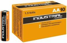 Батарейка Duracell Industrial (AA, Alkaline,10 шт)