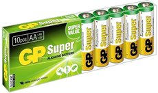 Батарейка GP 15A Super Alkaline (AA, 10 шт)