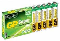 Батарейка GP 24A Super Alkaline (AAA, 10 шт)