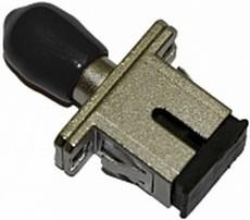 Оптический проходной адаптер Hyperline FA-S11Z-SC/ST-N/BK-SL