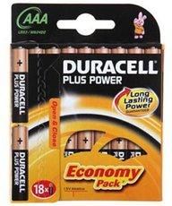 Батарейка Duracell Basic (AAA, Alkaline, 18 шт)