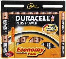 Батарейка Duracell Basic (AA, Alkaline, 18 шт)