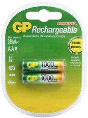 Аккумулятор GP (AAA, NiMH, 1000mAh, 2 шт)