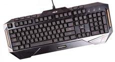 Клавиатура ASUS Cerberus Keyboard Black