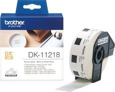 Адресные наклейки Brother DK11218
