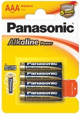 Батарейка Panasonic Alkaline Power (AAA, Alkaline, 4 шт)