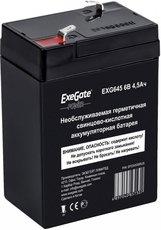 Аккумуляторная батарея Exegate EG4.5-6/EXG 645 F1