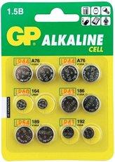 Батарейка GP ACM01-CR12 (2шт LR41, 2шт LR43, 4шт LR44, 2шт LR54, 2шт LR60)