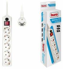Сетевой фильтр Buro 500SH-5-W
