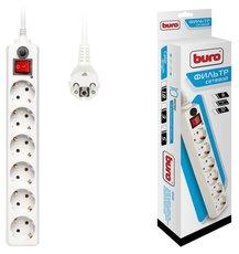 Сетевой фильтр Buro 600SH-5-W