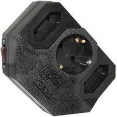 Сетевой фильтр Most MRG 3 розетки чёрный