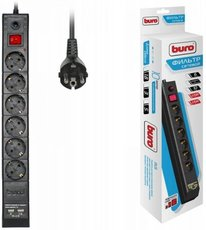 Сетевой фильтр Buro BU-SP3_USB_2A-B