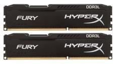 Оперативная память 16Gb DDR-III 1866MHz Kingston HyperX Fury (HX318LC11FBK2/16) (2x8Gb KIT)