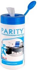 Parity 24060 Влажные салфетки для всех типов пластиковых поверхностей 105 шт.