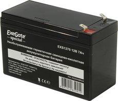 Аккумуляторная батарея Exegate EXS 1270 12V7Ah F1