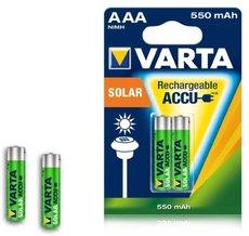 Аккумулятор Varta (AAA, 550mAh, 2 шт)