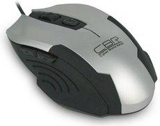 Мышь CBR CM-333 Silver/Black