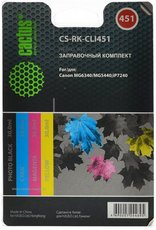 Заправочный комплект Cactus CS-RK-CLI451