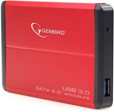 Внешний корпус для HDD Gembird EE2-U3S-2-R Red