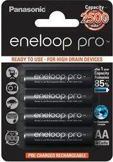 Аккумулятор Panasonic Eneloop Pro (AA, 2500mAh, 4 шт)