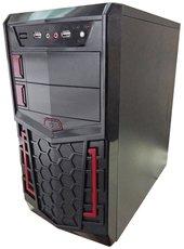 Корпус 3Cott 3C-MATX-XH1B Ultron 500W Black