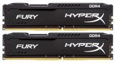 Оперативная память 16Gb DDR4 2400MHz Kingston HyperX Fury (HX424C15FB2K2/16) (2x8Gb KIT)