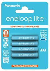 Аккумулятор Panasonic Eneloop Lite (AAA, 550mAh, 4 шт)