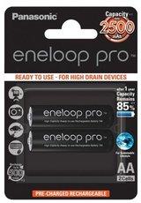 Аккумулятор Panasonic Eneloop Pro (AA, 2500mAh, 2 шт)