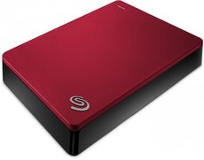 Внешний жесткий диск 4Tb Seagate Backup Plus Portable Red (STDR4000902)