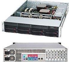 Серверный корпус SuperMicro CSE-825TQC-R740LPB