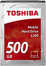 Жесткий диск 500Gb SATA-II Toshiba L200 (HDWJ105EZSTA)