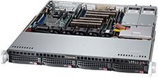 Серверный корпус SuperMicro CSE-813MFTQ-R400CB