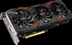 Видеокарта nVidia GeForce GTX1070 Gigabyte WindForce 3X PCI-E 8192Mb (GV-N1070G1 GAMING-8GD)
