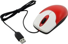 Мышь Genius NetScroll 100 V2 Red/White USB