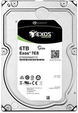 Жесткий диск 6Tb SATA-III Seagate Exos 7E8 (ST6000NM0115)