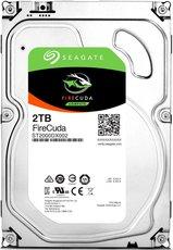 Жесткий диск 2Tb SATA-III Seagate FireCuda SSHD (ST2000DX002)