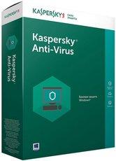 Kaspersky Anti-Virus Russian Edition. 2-Desktop 1 year Base Box (KL1171RBBFS)