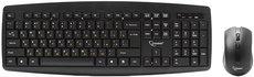 Клавиатура + мышь Gembird KBS-8000 Black Wireless