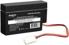 Батарея Exegate EXG1208 12V0.8Ah T9